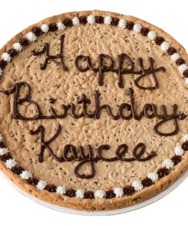 Strange Cookie Cake Personalised Birthday Cards Veneteletsinfo