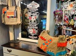 Hand-crafted knapsacks and toys
